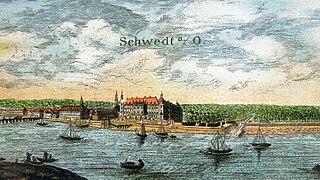 Brandenburg-Schwedt secundogeniture of the Hohenzollern margraves of Brandenburg