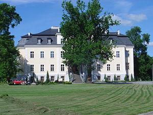 Kreisau Circle - The von Moltke estate in Kreisau, Silesia