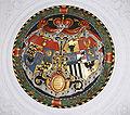Schloss Wolfegg Bankettsaal Wappen.jpg