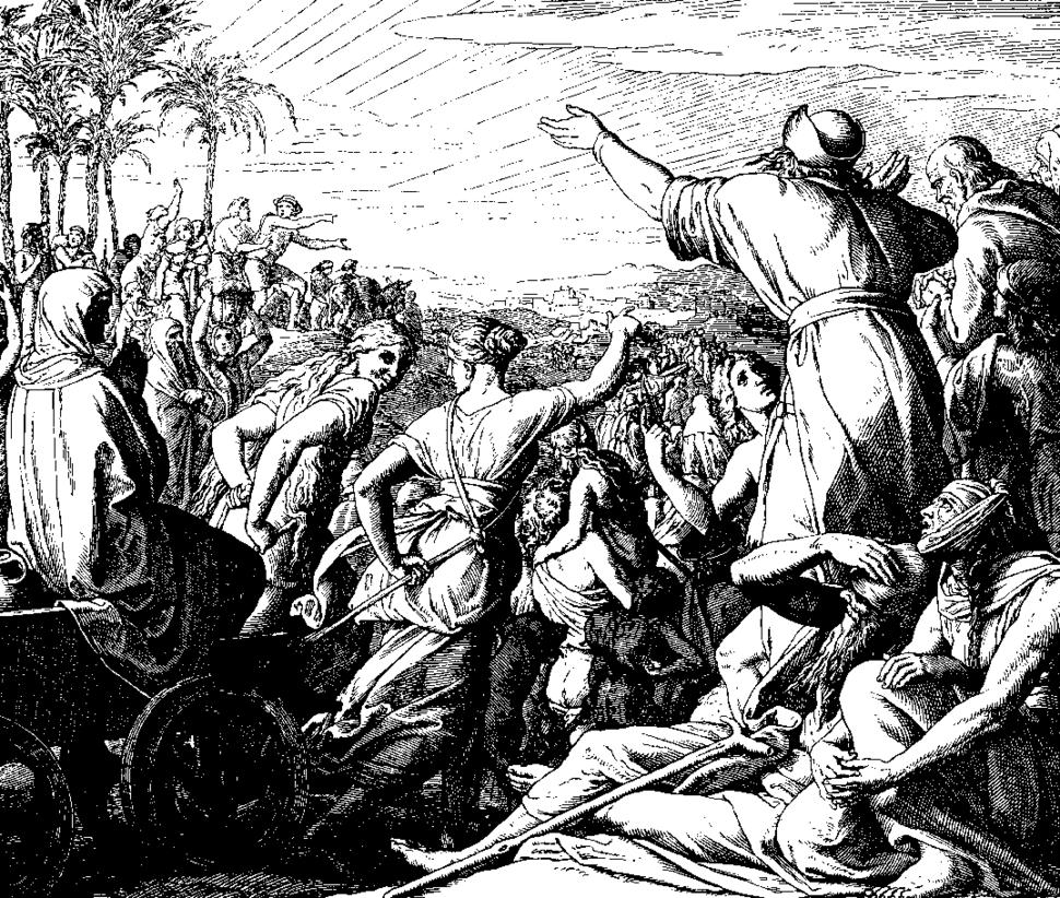Schnorr von Carolsfeld Bibel in Bildern 1860 125
