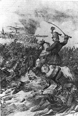 "Battle of Schwechat - ""The Battle of Schwechat"" by Anton Ziegler, 1850"