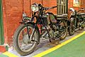 Scott motorbike, Wirral Transport Museum, Birkenhead (geograph 4533696).jpg