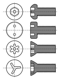 Screw (bolt) 11B-n