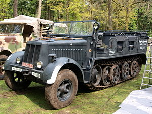 Sd.Kfz. 7 - Sd.Kfz. 7 on Militracks 2010, Overloon