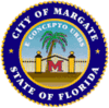 Official seal of Margate, Florida