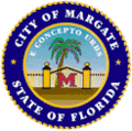 Seal of Margate, Florida.png