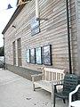 Seat outside Hayling Lifeboat Station - geograph.org.uk - 1423450.jpg