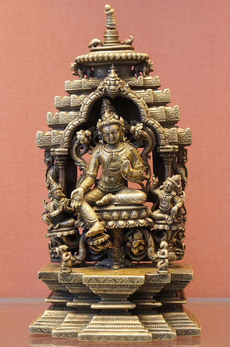 Seated Avalokiteshvara BM OA 1985.5-11.1