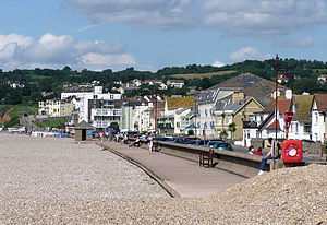 Seaton, Devon - The sea front