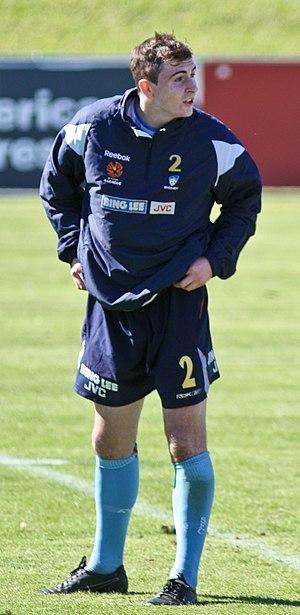 Sebastian Ryall - Ryall training with Sydney FC