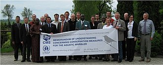 Aquatic Warbler Memorandum of Understanding - Second Meeting of signatories to the Aquatic Warbler MoU, Biebrza National Park, Poland, 13–15 May 2010