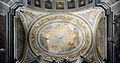 Second left chapel ceiling of Ceiling of Gesù e Maria (Rome).jpg