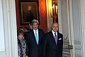 Secretary Kerry, EU High Representative Ashton, and French Foreign Minister Fabius (12956881885).jpg