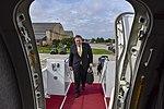 Secretary Pompeo Departs for Riyadh (31481561918).jpg