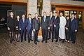 Secretary Pompeo Thanks Hyatt Staff in Seoul (45120383422).jpg