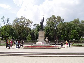 Chișinău - Stephen the Great Monument