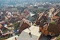 Segesvár - Alsóváros - a Piac tér és a Felsővárosba vezető út - panoramio.jpg