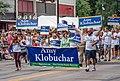 Senator Amy Klobuchar at Twin Cities Pride Parade 2018 - Minneapolis, Minnesota (42098802395).jpg