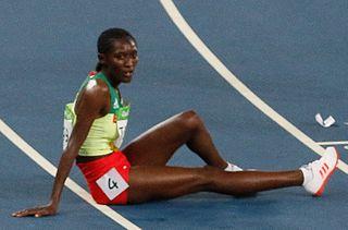 Senbere Teferi Ethiopian runner
