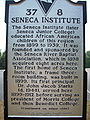 Seneca Junior College Historical Marker I.JPG