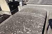 Sepultura de Blanca de los Ríos (panteón de Hombres Ilustres, sacramental de San Justo).JPG