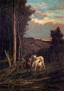 Serafino De Tivoli, Al pascolo, 1859