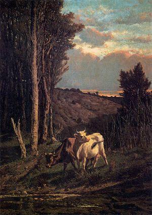Serafino De Tivoli - A Pasture