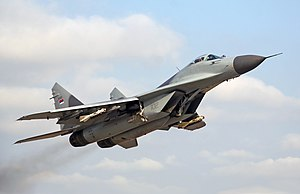 Mikoyan MiG-29 (Fulcrum) Lightweight Multi-Role Fighter