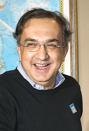 Italiano: Sergio Marchionne, amministratore de...