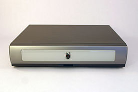 Front view of a TiVo Series2 5xx-generation unit