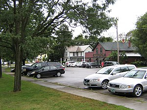 Shelburne, Vermont - A section of central Shelburne