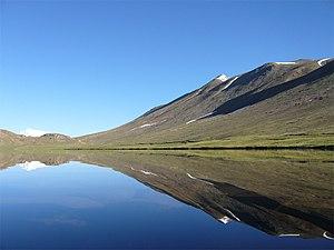 Sheosar Lake - Image: Sheosar lake