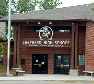 Shepherd, Montana - Shepherd High School