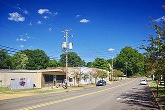 Sherman, Mississippi - Main Street