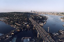 Ship canal bridge and downtown skyline, 2000.jpg