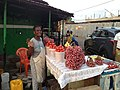 Shito ingredients seller at Malam Atta Market in Accra.jpg