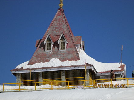 The Shiva temple of Gulmarg was previously the royal temple of Dogra kings