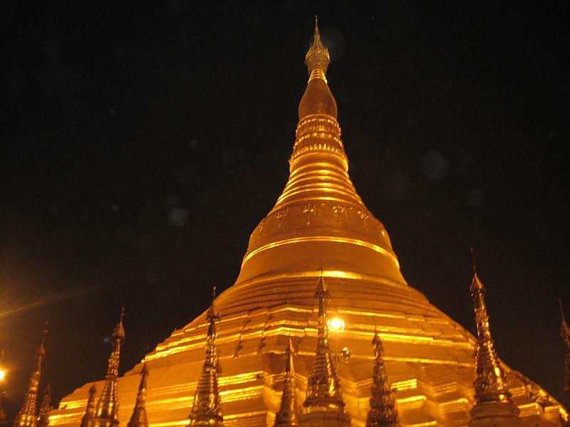 File:Shwedagon-at-Night.JPG