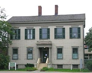 Sibley House (Detroit, Michigan) - Image: Sibley House Detroit MI