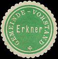 Siegelmarke Gemeinde-Vorstand Erkner W0344490.jpg