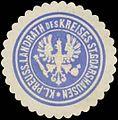 Siegelmarke Kl. Pr. Landrath des Kreises St. Goarshausen W0391573.jpg