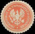 Siegelmarke Prorectorat der K. Universität zu Göttingen W0323405.jpg