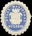 Siegelmarke Stadt-Magistrat Weilheim W0313946.jpg