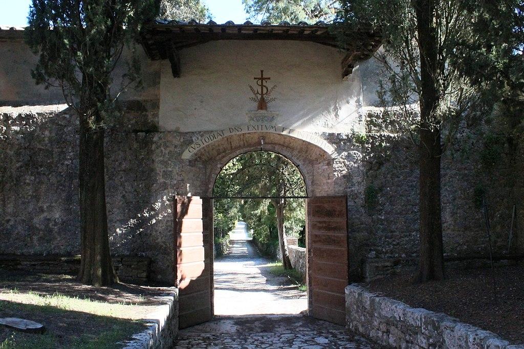 Eremo di San Salvatore di Lecceto (Entrance Gate (from inside)), Siena