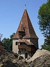 Sighişoara (Schäßburg, Segesvár) - The Shoemakers Tower.JPG