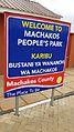 Signage at Machakos People's Park.jpg