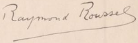 Signature Raymond Roussel.PNG