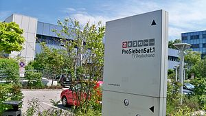 ProSiebenSat.1 Media - Signboard of ProSiebenSat.1 TV Germany