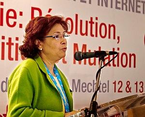 Sihem Bensedrine - Sihem Bensedrine, in January 2012