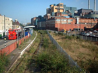 Silvertown railway station - Image: Silvertown railway station in 2008